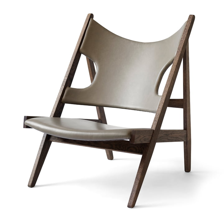 Knitting Chair von Menu in Eiche dunkel gebeizt / sand