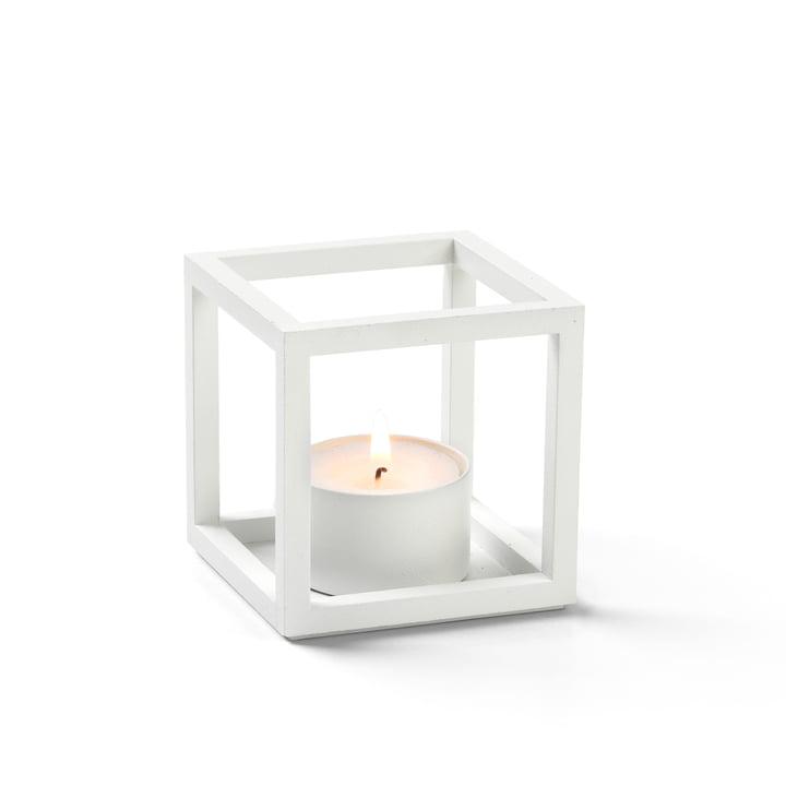 Kubus T Teelichthalter von by Lassen in weiß