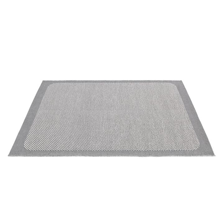 Pebble Teppich von Muuto - 200 x 300 cm in hellgrau