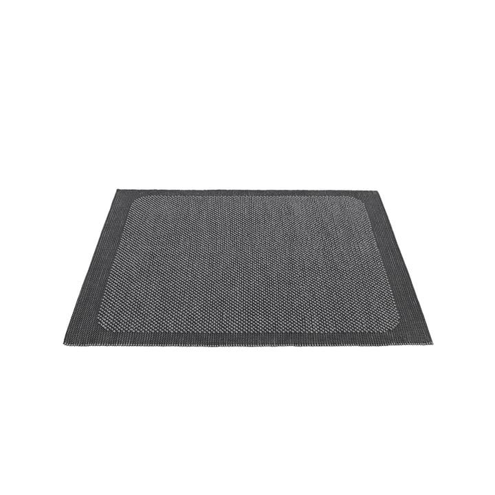 Pebble Teppich von Muuto - 170 x 240 cm in dunkelgrau