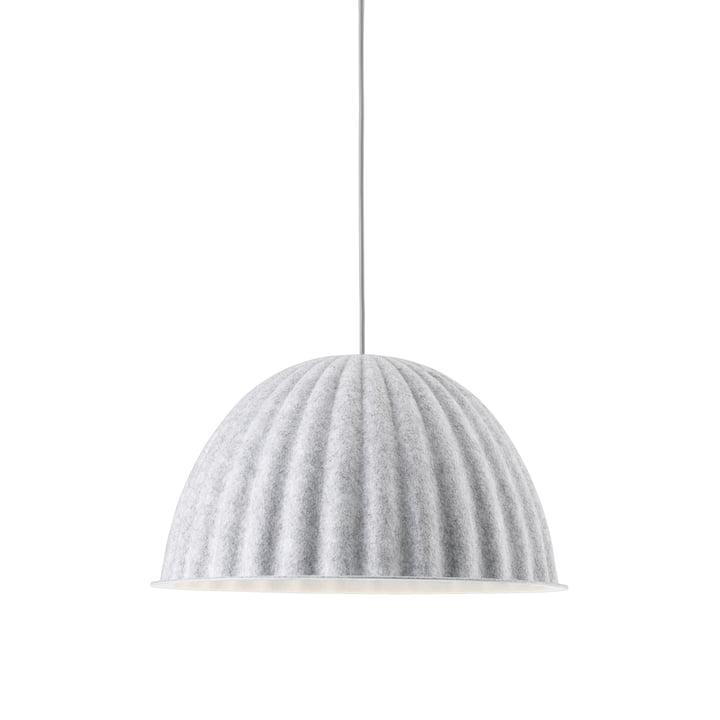 Under the Bell Pendelleuchte Ø 55 cm von Muuto in weiß melange