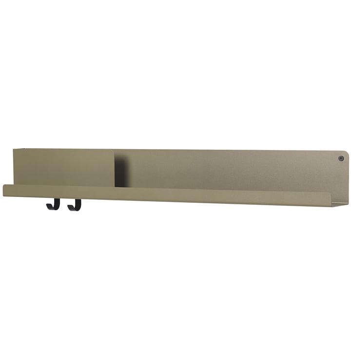 Folded Shelves 96 x 13 cm von Muuto in oliv