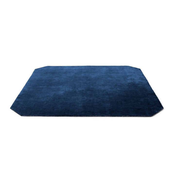 The Moor Teppich AP6 von &tradition - 240 x 240 cm, blue midnight