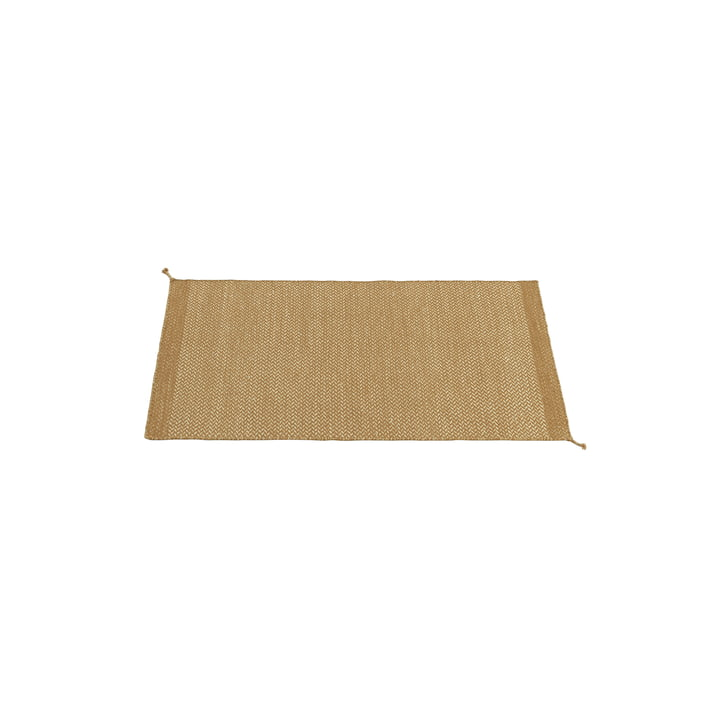 Ply Rug 85 x 140 cm von Muuto in burnt orange