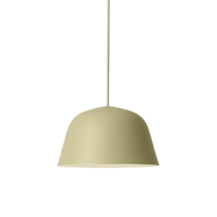 Ambit Pendelleuchte Ø 25 cm von Muuto in beige-grün