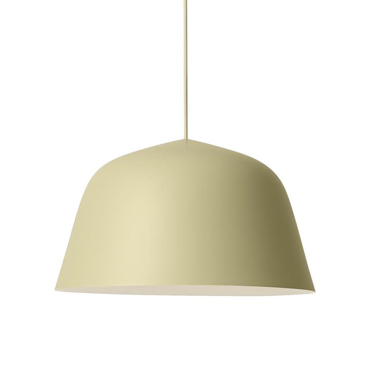 Ambit Pendelleuchte Ø 40 cm von Muuto in beige-grün