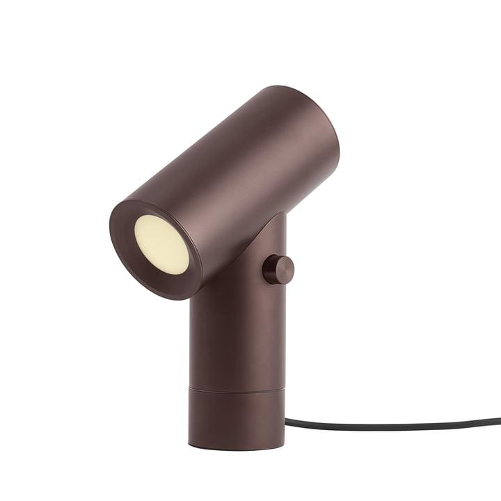 Beam LED-Tischleuchte von Muuto in umber