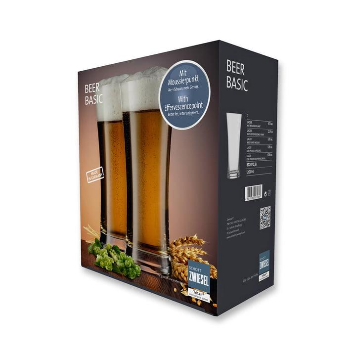 Beer Basic Bierglas für Lager 0.5 l (2er Angebots-Set) von Schott Zwiesel