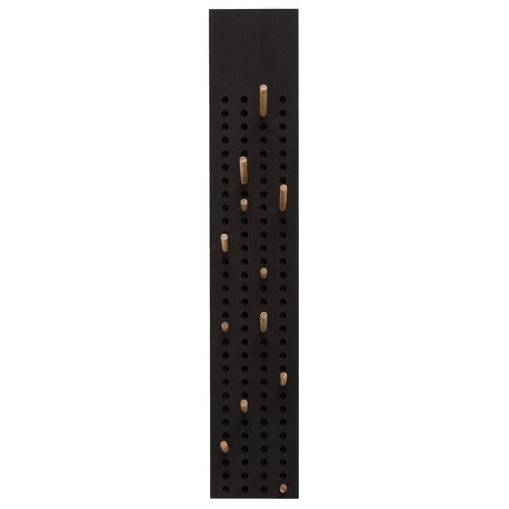 Scoreboard Garderobe vertikal von We Do Wood in Bambus dunkel