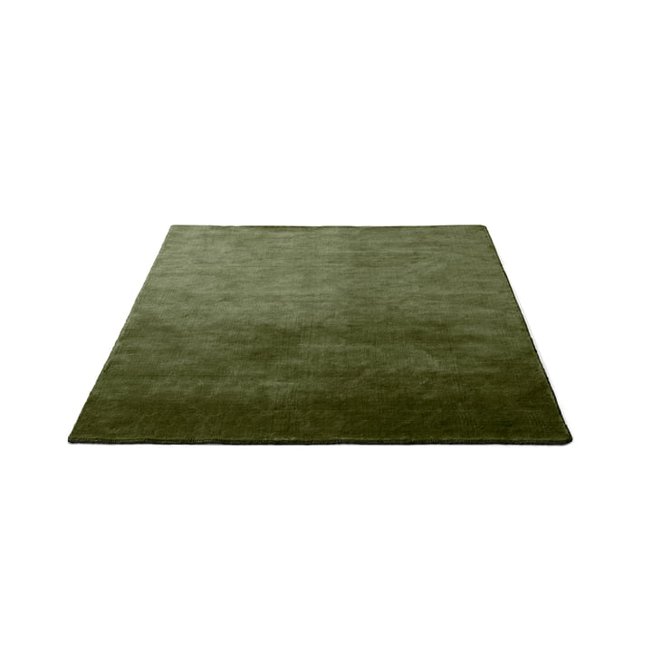 &tradition - The Moor Teppich AP5, 170 x 240 cm, green pine