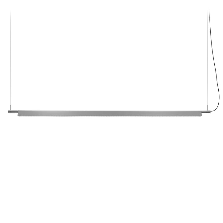 D81BW Compendium LED Pendelleuchte von Luceplan, aluminium inkl. Baldachin, weiß