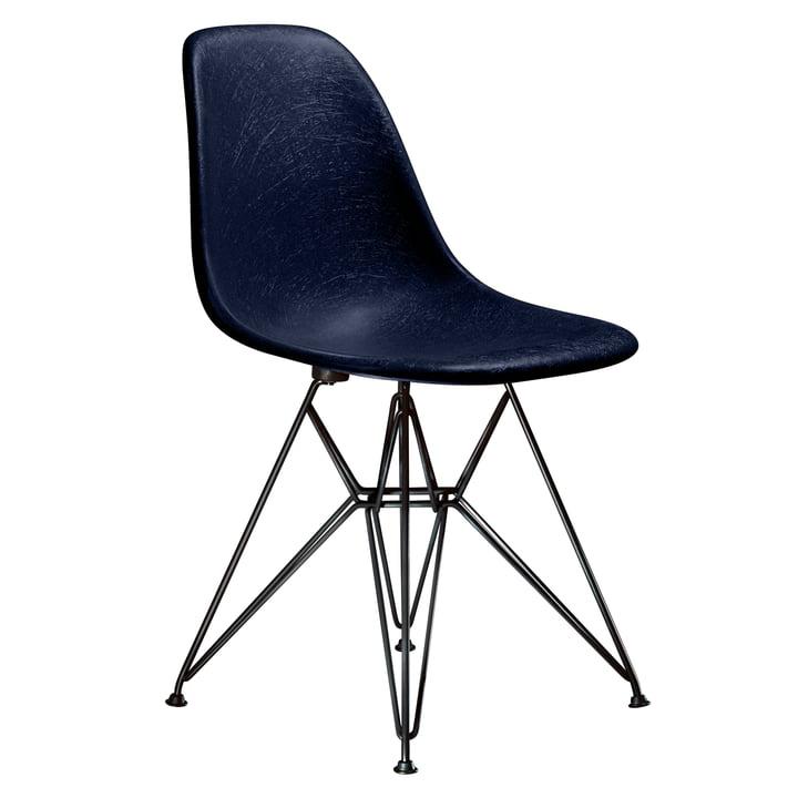 Eames Fiberglass Side Chair DSR von Vitra - basic dark / Eames navy blue