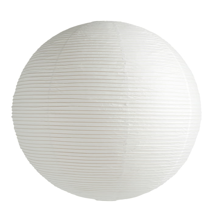 Rice Paper Lampenschirm Ø 80 cm von Hay in classic white