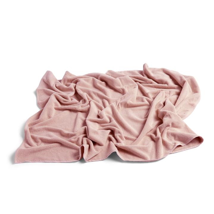 Frotté Badetuch 100 x 150 cm von Hay in rosa