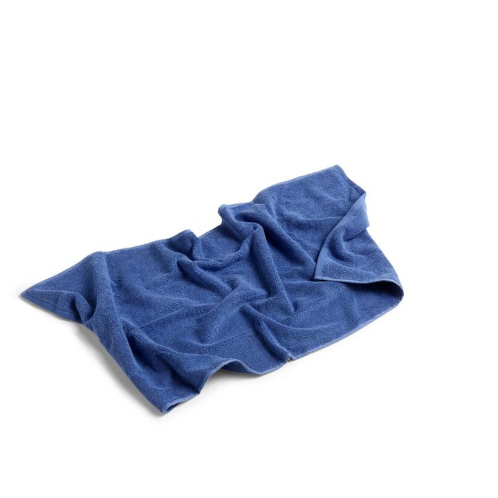 Frotté Handtuch 100 x 50 cm von Hay in blau