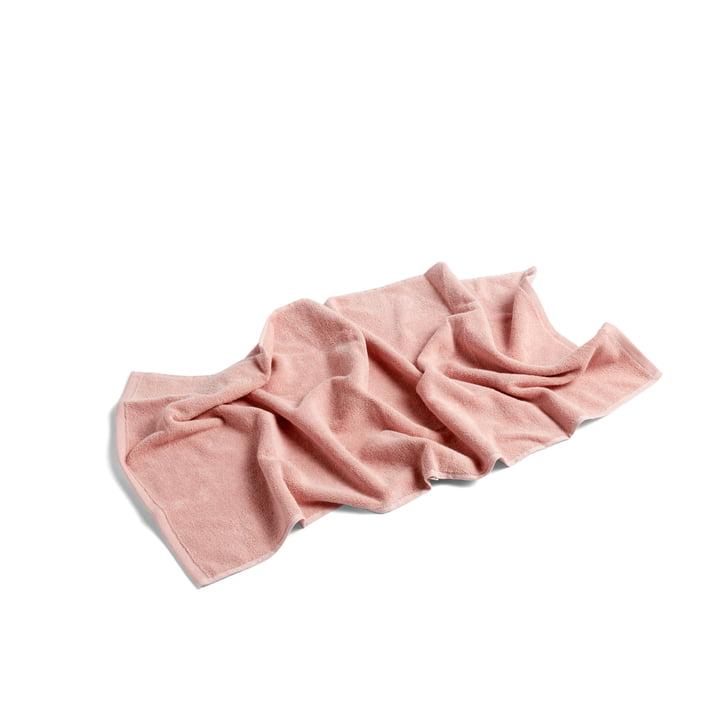 Frotté Handtuch 100 x 50 cm von Hay in rosa