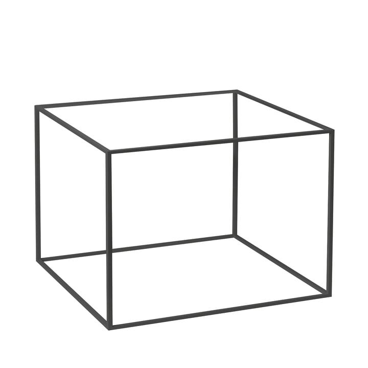 Rahmen für Twin 49 Beistelltisch von by Lassen in schwarz