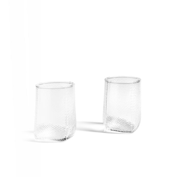 Tela Votive Teelichthalter von Hay in klar (2er-Set)
