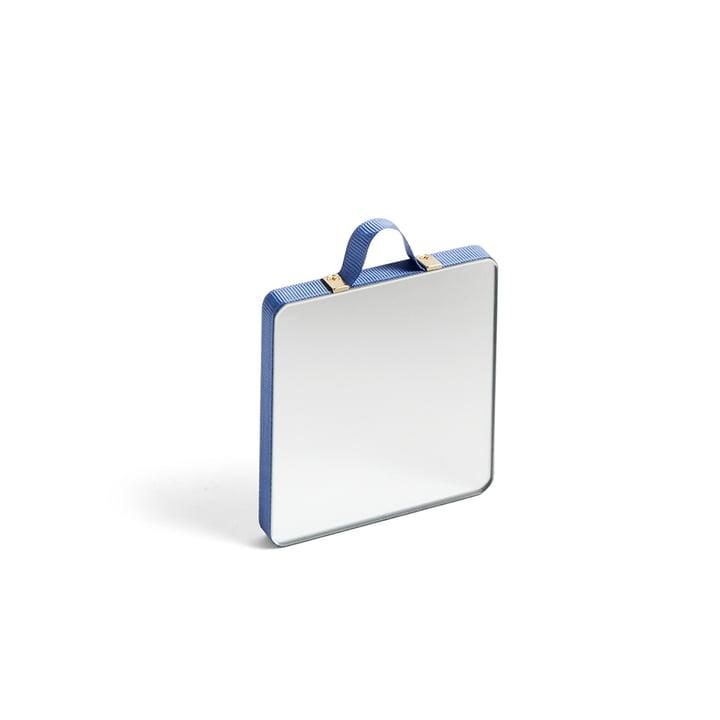 Ruban Spiegel Square XS von Hay in blau