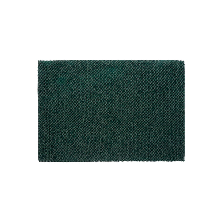 Peas Teppich 140 x 200 cm von Hay in dunkelgrün
