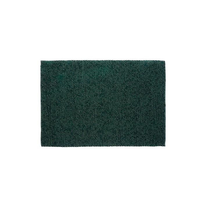Peas Teppich 80 x 140 cm von Hay in dunkelgrün