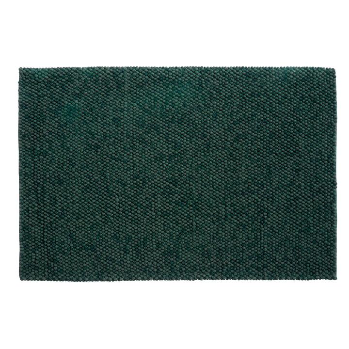 Peas Teppich 200 x 300 cm von Hay in dunkelgrün