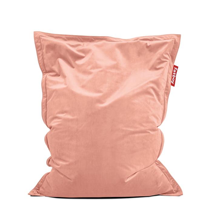 Sitzsack Original Slim Velvet von Fatboy in rosa