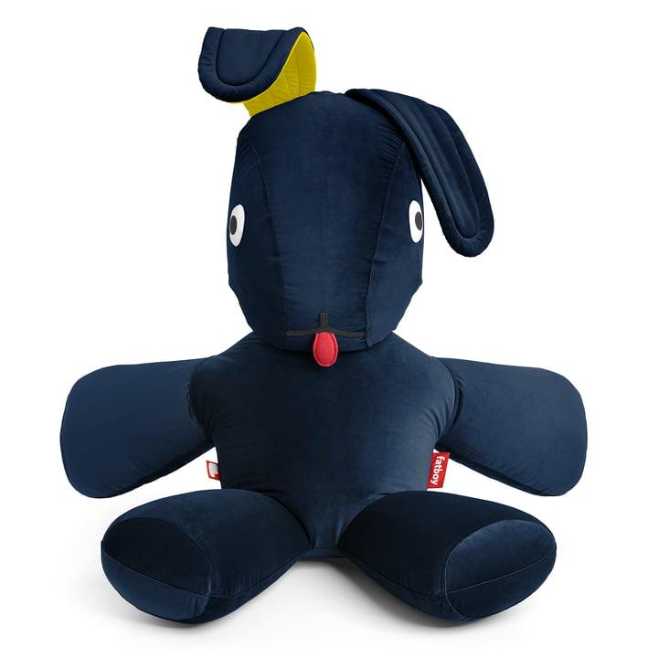 CO9 XS Lounge Kaninchen Velvet von Fatboy in dunkelblau