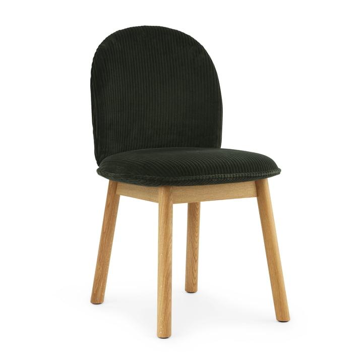 Ace Chair von Normann Copenhagen in Eiche / grün (Cord Uno 39)