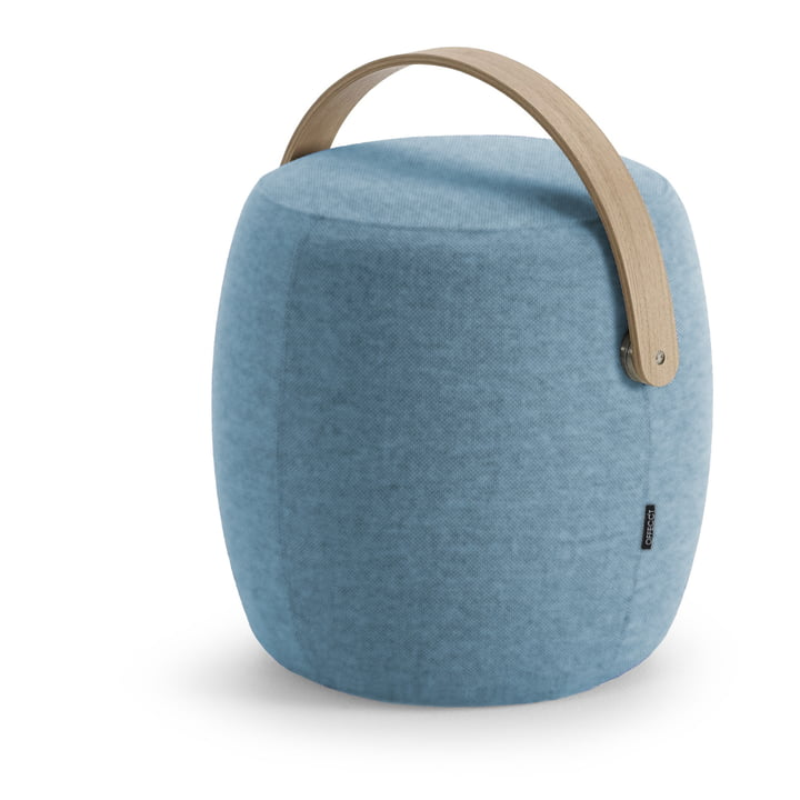 Carry On Hocker von Offecct in blau (Divina Melange 0731)