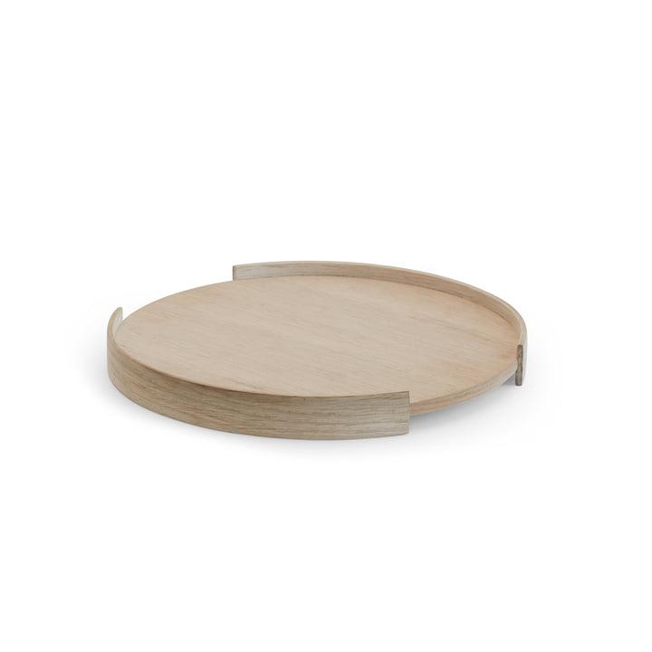 Opening Tablett Ø 28 cm von Skagerak aus Eichenholz