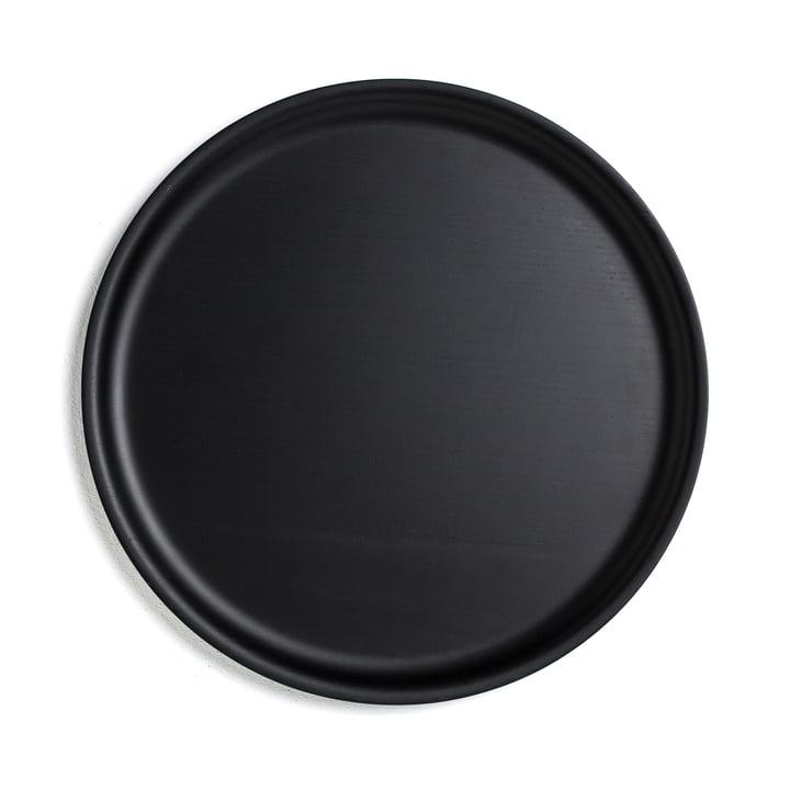 Tablett Ø 35 cm von Conmoto in schwarz
