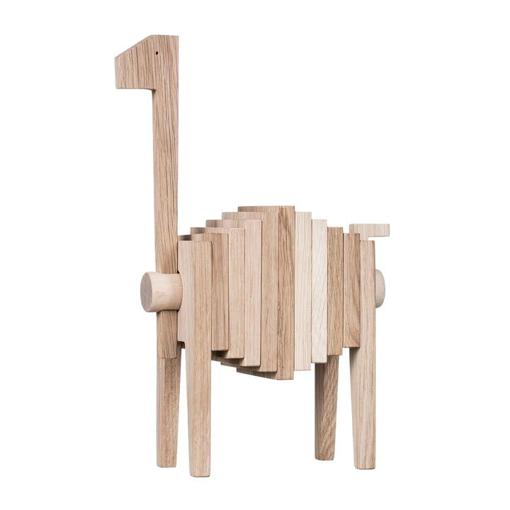 Polygrif Holzfigur von Moebe in Eiche