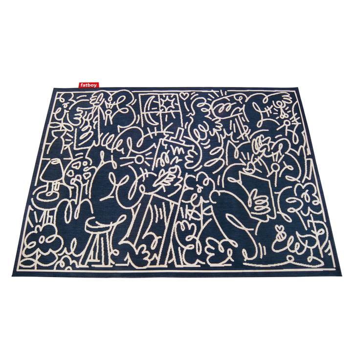 Carpet Diem X JORDY von Fatboy in blau