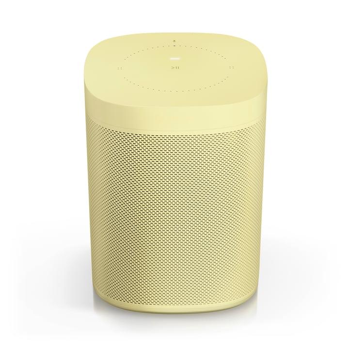 HAY for Sonos - ONE, All-in-One Smart Speaker mit Sprachsteuerung, pale yellow (Limited Edition)