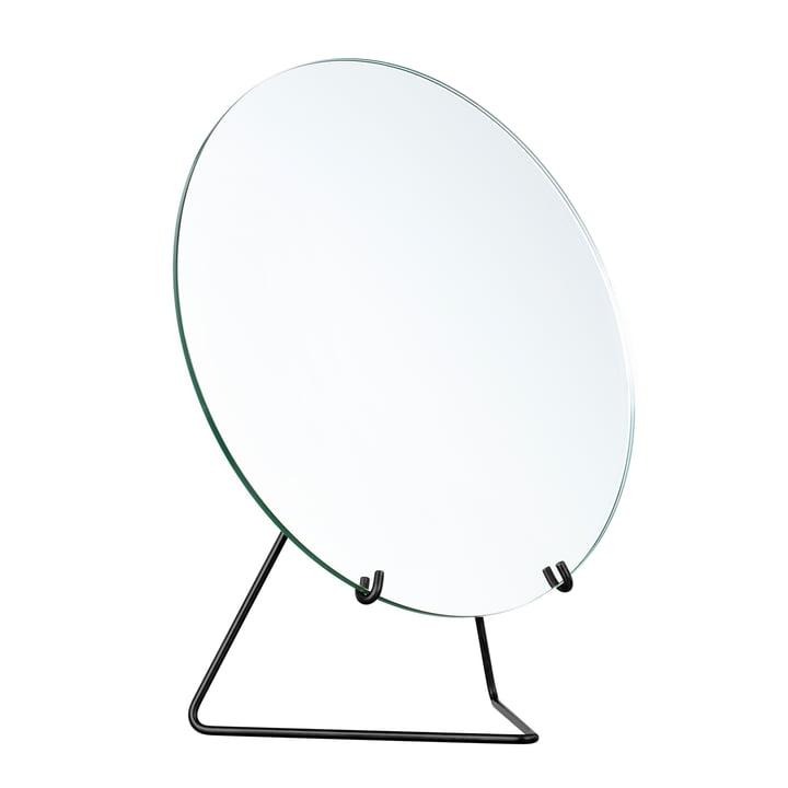 Tischspiegel Ø 30 cm von Moebe in schwarz