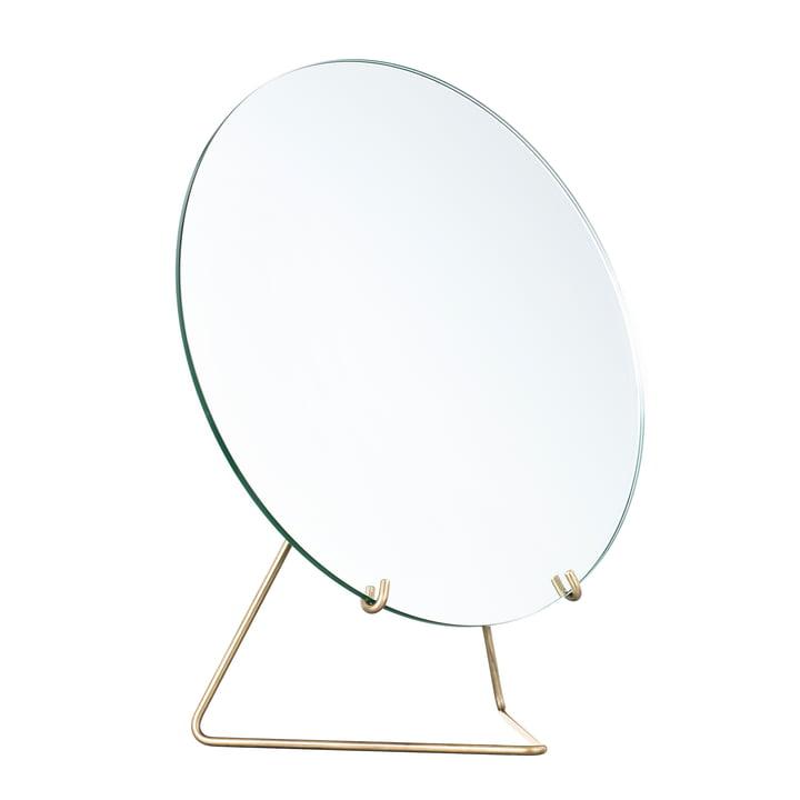 Tischspiegel Ø 30 cm von Moebe in Messing