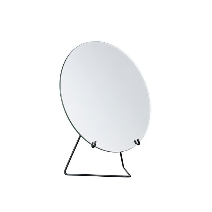 Tischspiegel Ø 20 cm von Moebe in schwarz