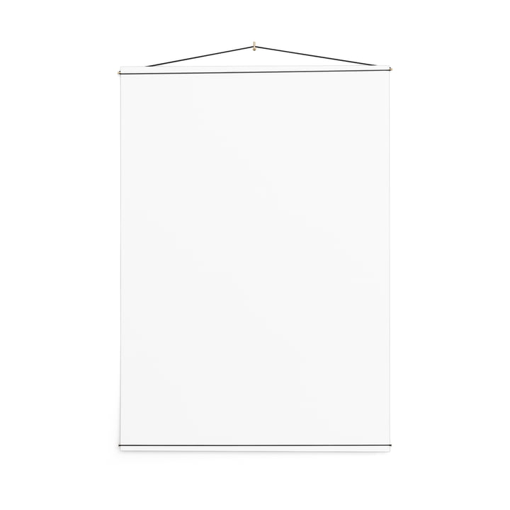 Poster Hanger, 70 x 100 cm von Moebe in Messing