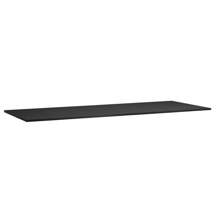 Ersatzplatte für Loop Stand Tisch 200 von Hay in schwarz