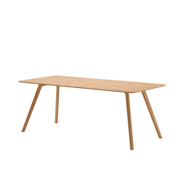 Meyer Tisch Large von Objekte unserer Tage - 200 x 92 cm in Eiche