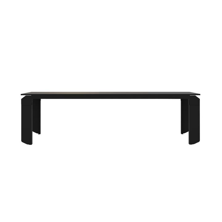 Novak Tisch von Objekte unserer Tage - 200 x 85 cm, schwarz