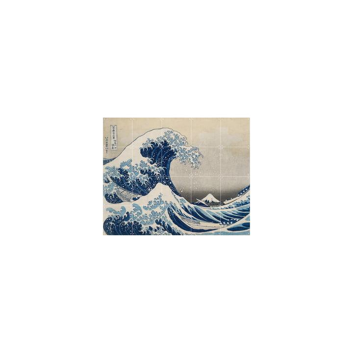 Die große Welle vor Kanagawa (Hokusai) 100 x 80 cm von IXXI