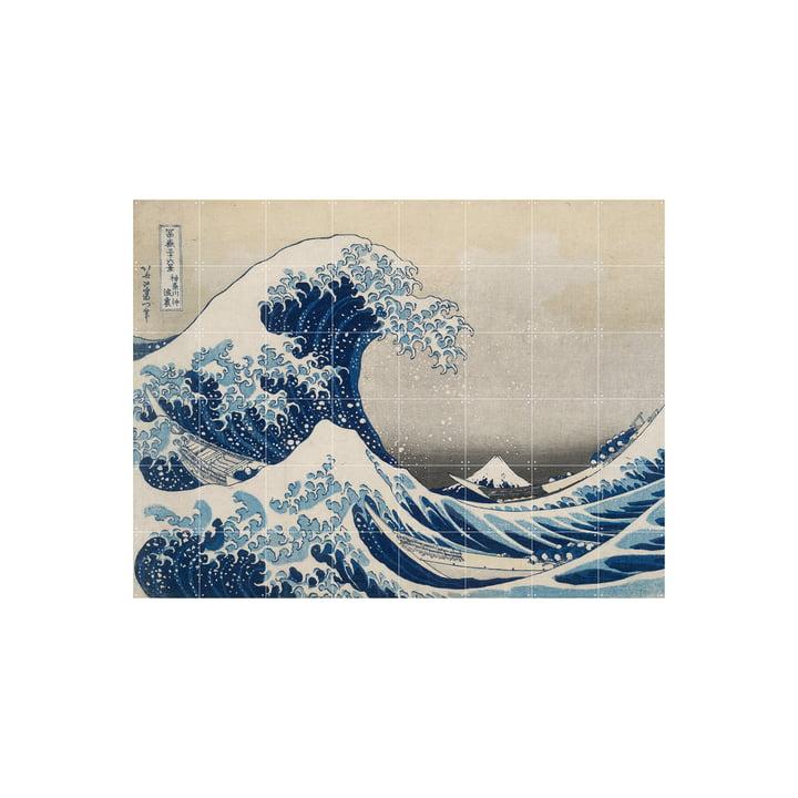 Die große Welle vor Kanagawa (Hokusai) 160 x 120 cm von IXXI