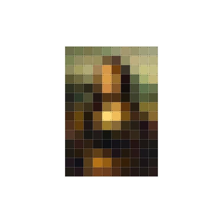 Mona Lisa (Pixel) 100 x 140 cm von IXXI