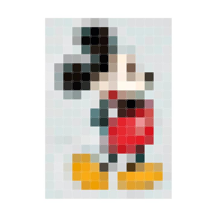 Micky Maus (Pixel) 140 x 200 cm von IXXI
