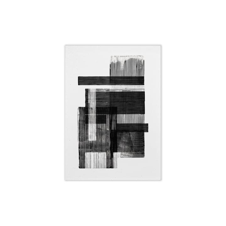 Midnight 02 von Paper Collective, 30 x 40 cm