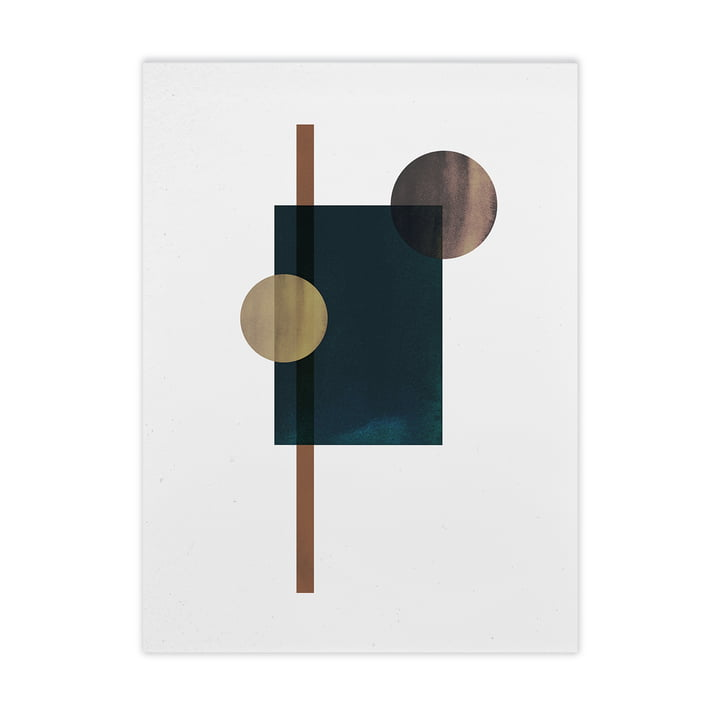 Shapes of Colour 04 von Paper Collective, 50 x 70 cm