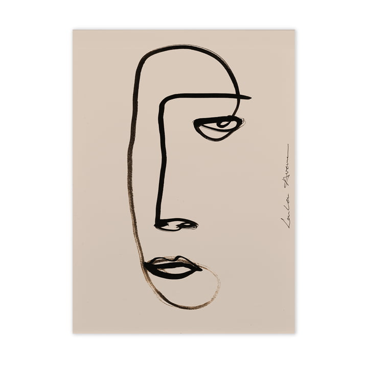Serious Dreamer von Paper Collective, 50 x 70 cm