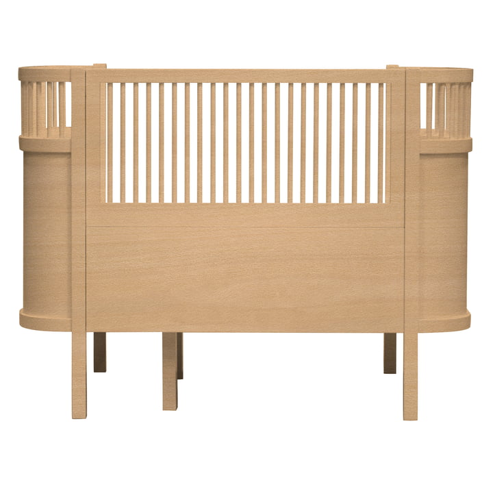 Sebra Bett für Baby und Junior aus Holz